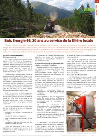 Bioénergie International_BE66, 20 ans au service de la filière locale
