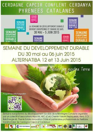 Semaine du Développement Durable en Pyrénées-Catalanes